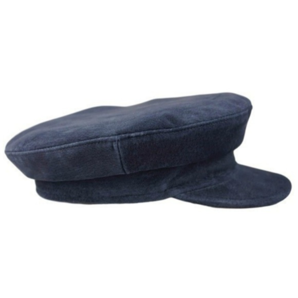 Accessories - Suede Greek Fisherman's Cap